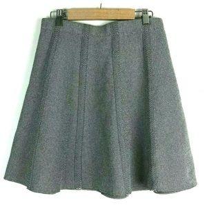 Zara Basic Skater Skirt S Stretch Knit Slip On